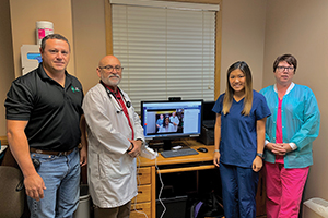 FiveStar Telehealth Clinic Staff Photo